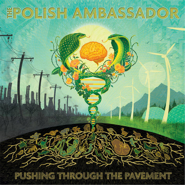 Pushing Through The Pavement cover art