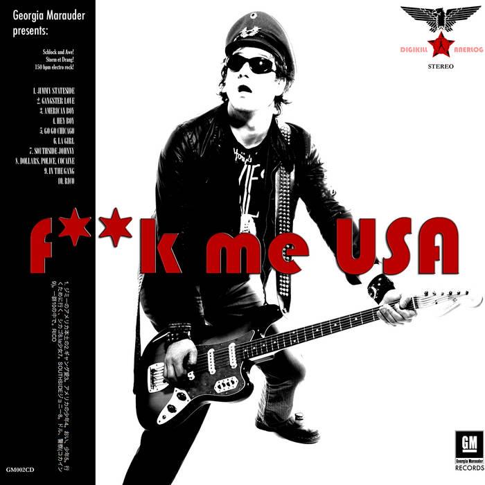 Fuck Me USA Anthology cover art