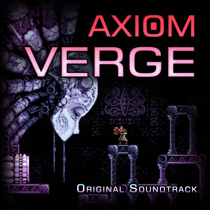 Axiom Verge Soundtrack cover art