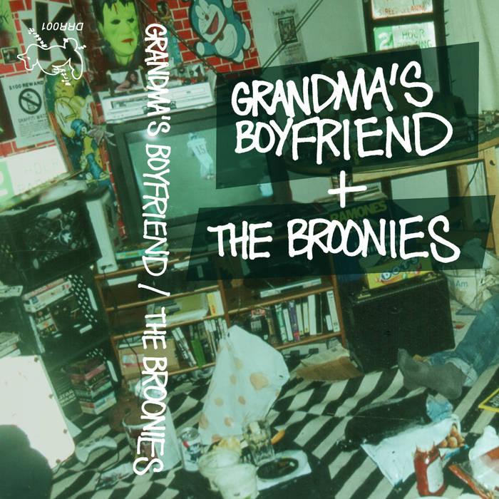 GBF + Broonies // Split Tape (2013) cover art