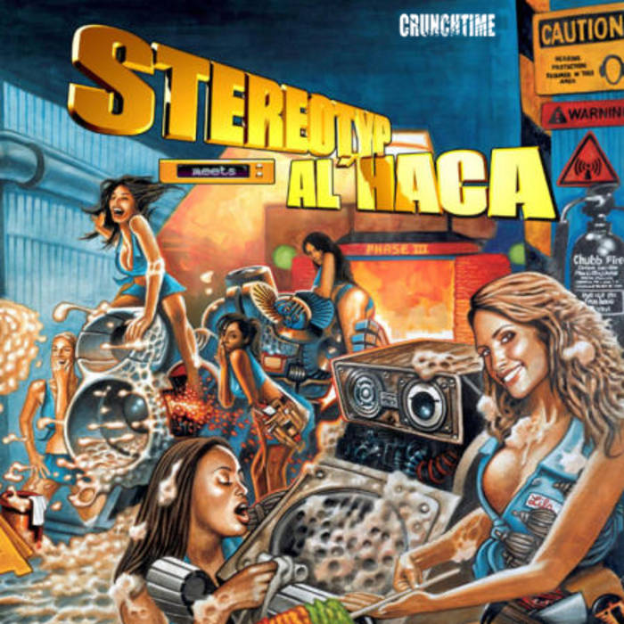 STEREOTYP meets ALHACA : Phase three cover art