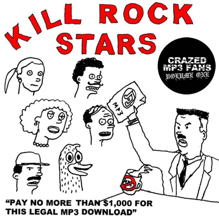 CRAZED MP3 FANS Vol. 1 cover art