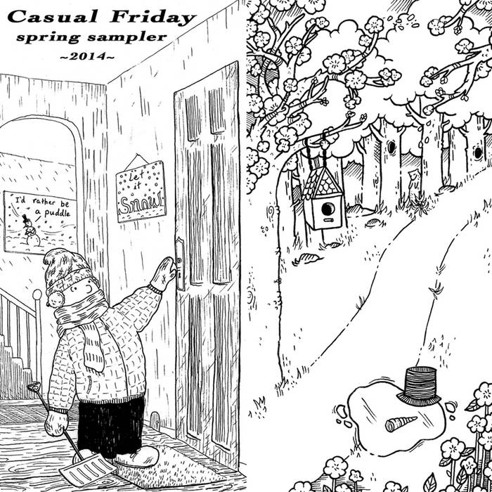 Casual Friday Spring Sampler 2014 cover art