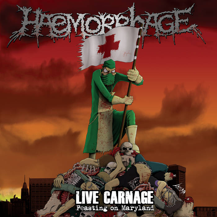 Live Carnage: Feasting On Maryland cover art