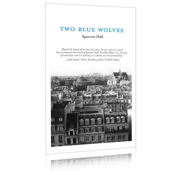 Two Blue Wolves - Immersive Story w/ E-Book, Audiobook, Soundtrack, Printable Artwork and More cover art