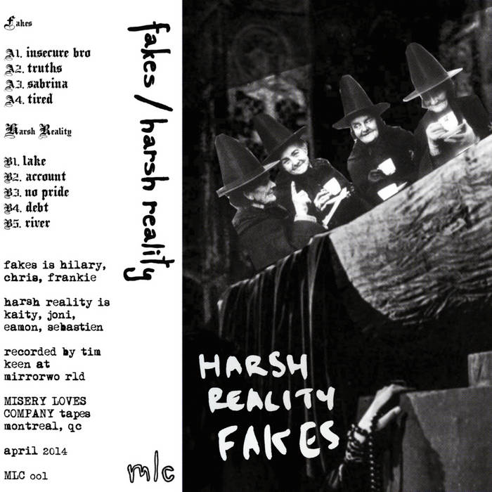 Fakes / Harsh Reality MLC Split cover art
