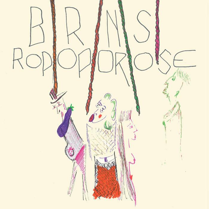 BRNS / Ropoporose - Split Vinyl 10' cover art