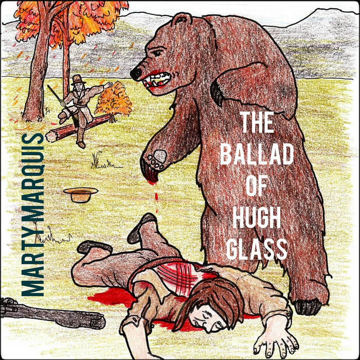 The Ballad of Hugh Glass b/w PDX Bridges cover art