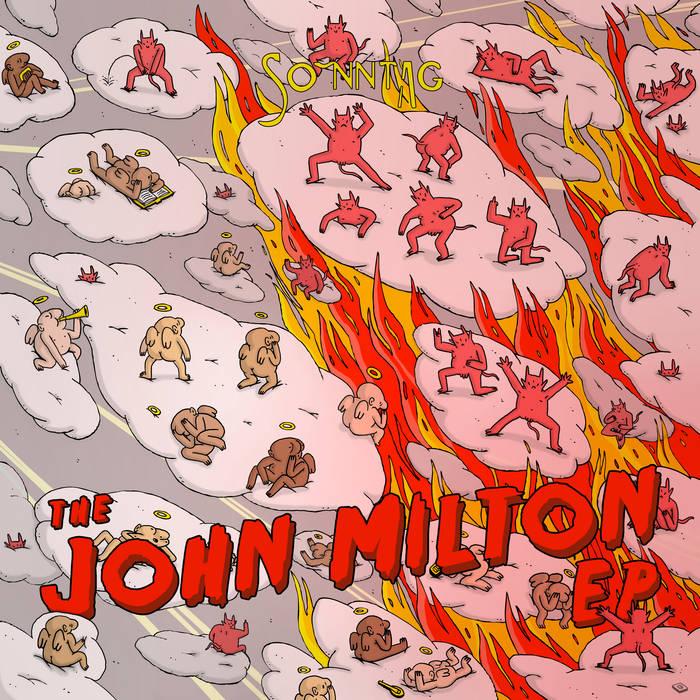 The John Milton EP cover art