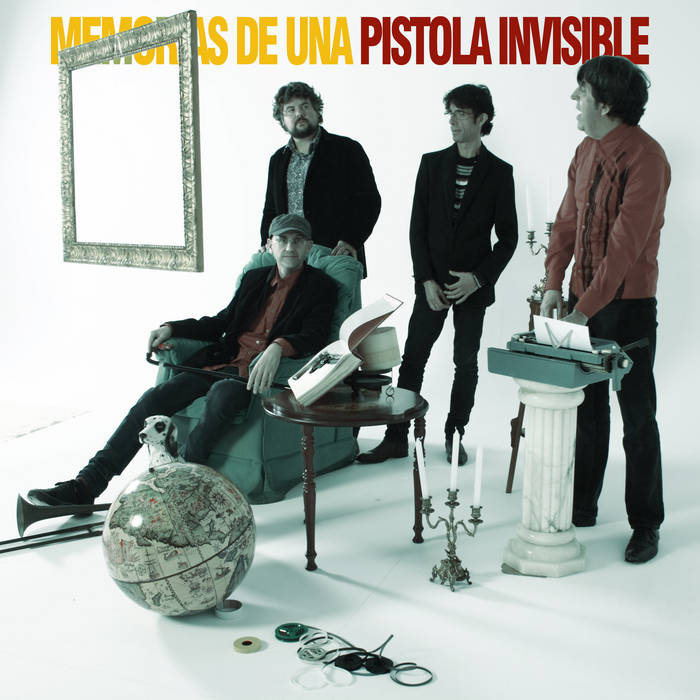 Memorias de una pistola invisible cover art