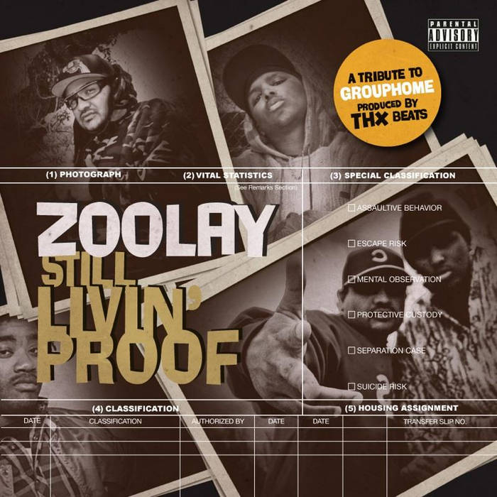 Still Livin Proof cover art