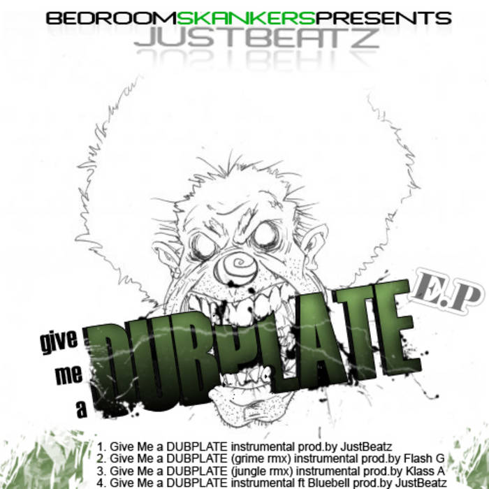 bedroom skankerz presents - give me a dubplate e.p cover art