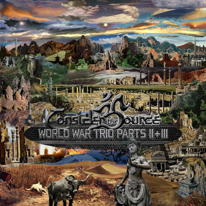 World War Trio (Parts II & III) cover art