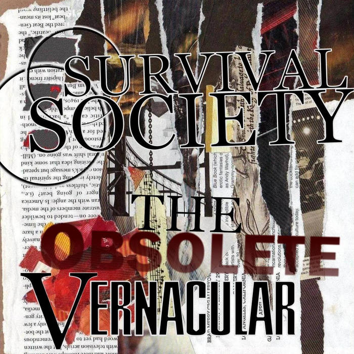The Obsolete Vernacular EP cover art