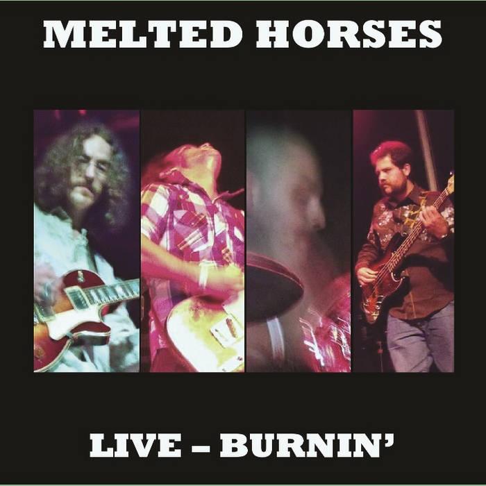 Live Burnin' cover art