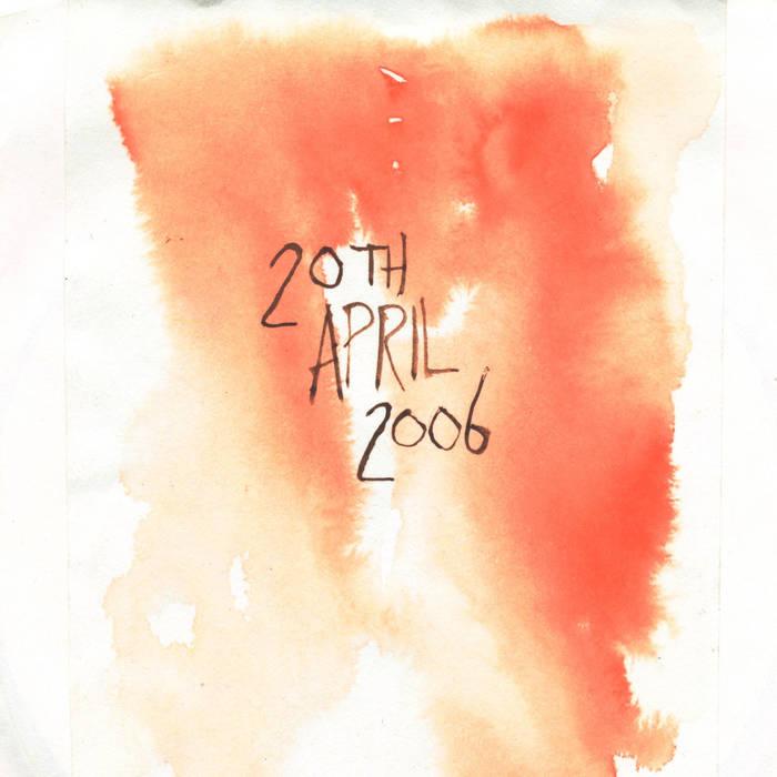 20th April 2006 cover art