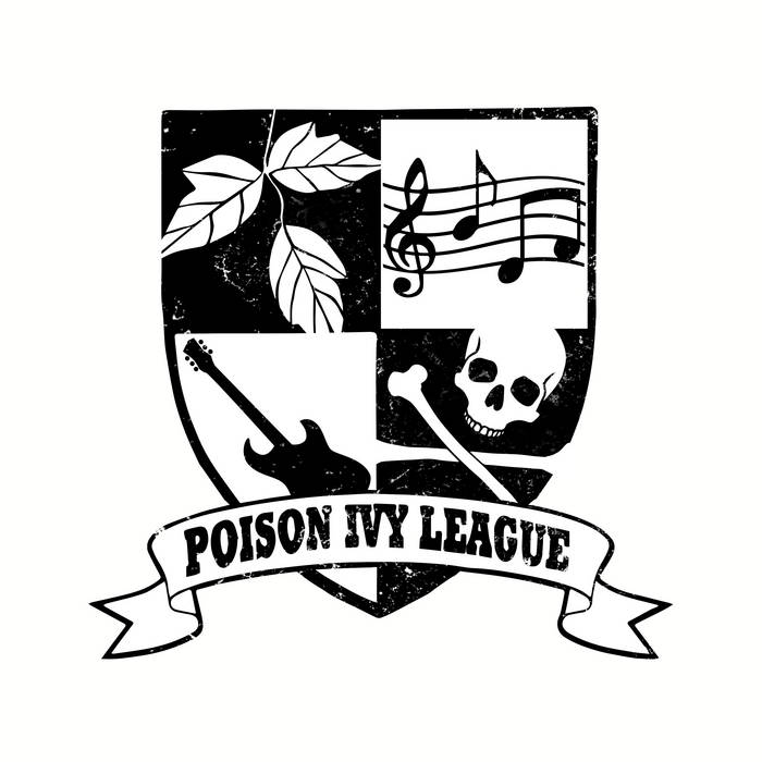 The Poison Ivy League DEMO recordings cover art