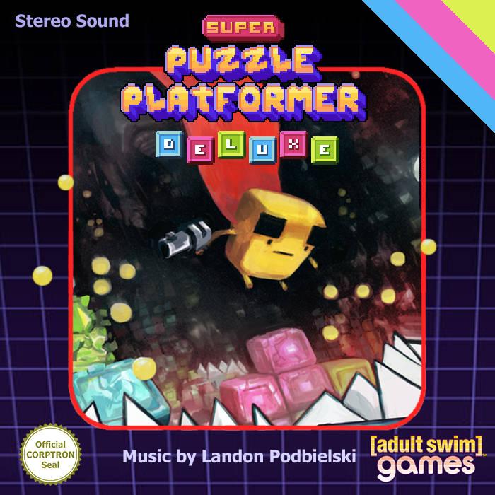 Super Puzzle Platformer Deluxe cover art