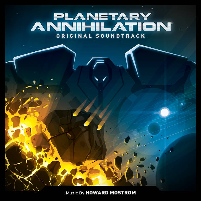 Planetary Annihilation (Original Soundtrack) cover art