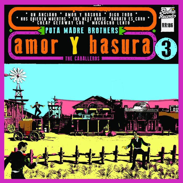 AMOR Y BASURA cover art