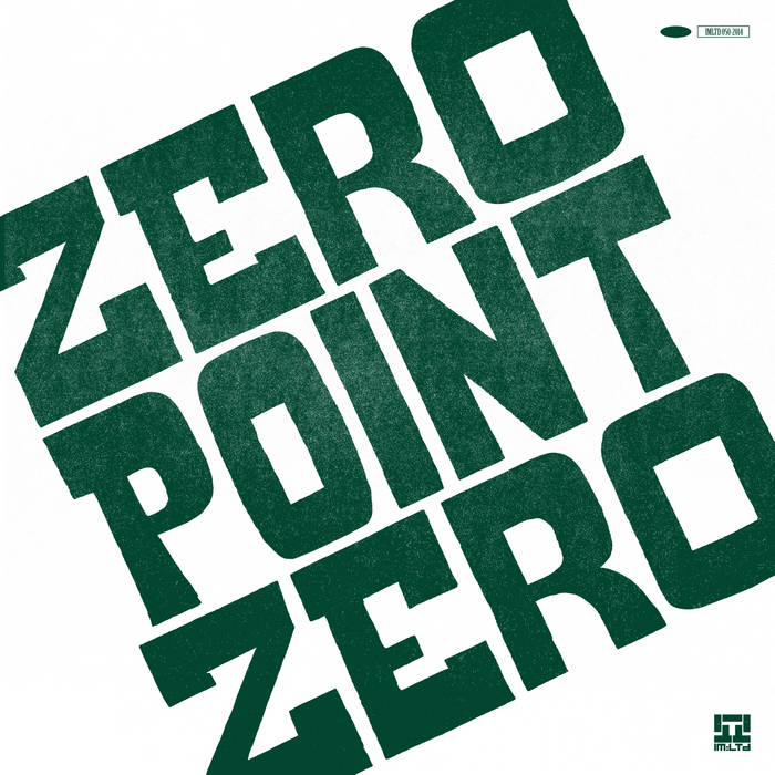 Zero Point Zero EP cover art