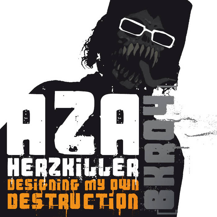 BKR04 - Aza Herzkiller - Designing My Own Destruction cover art