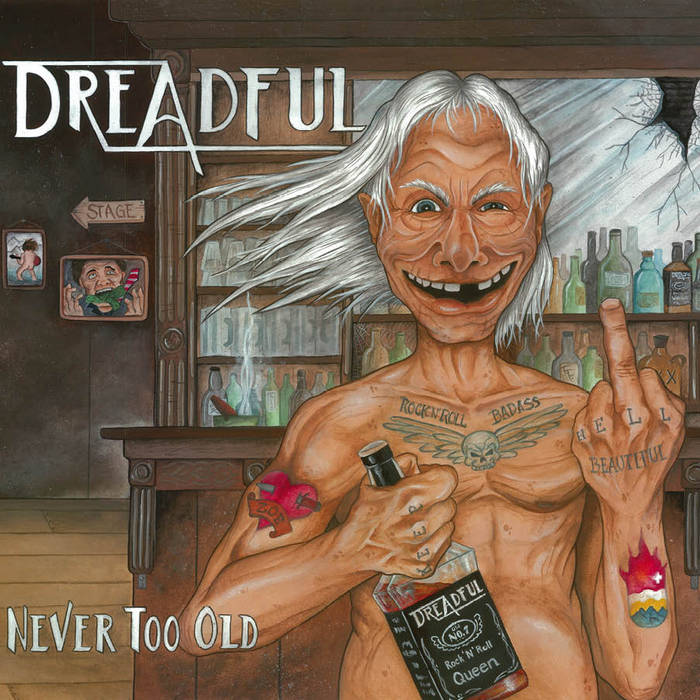 Never Too Old cover art