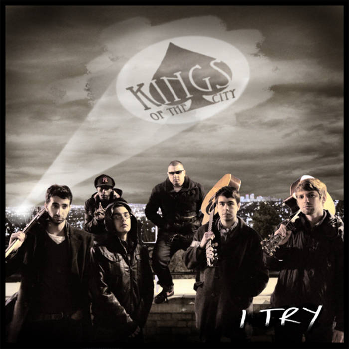'I Try' - The Single cover art