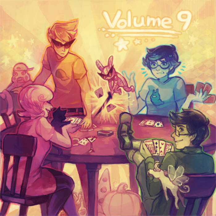 Homestuck Vol. 9 cover art
