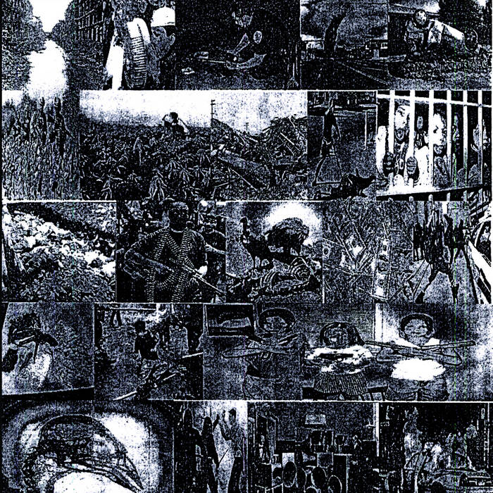 Split Tape with HUMAN CULL cover art
