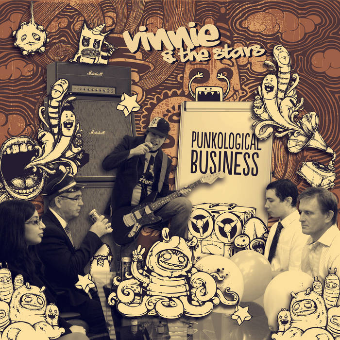 Punkological Business - Album cover art