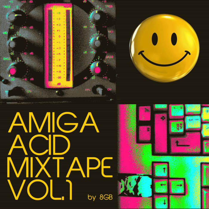 Amiga Acid Mixtape Vol.1 cover art