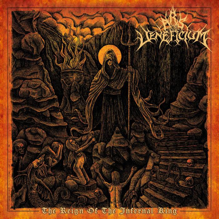 Detail fromo Ars Veneficium New Album, The Reign Of The Infernal King, Detail fromo Ars Veneficium New Album The Reign Of The Infernal King