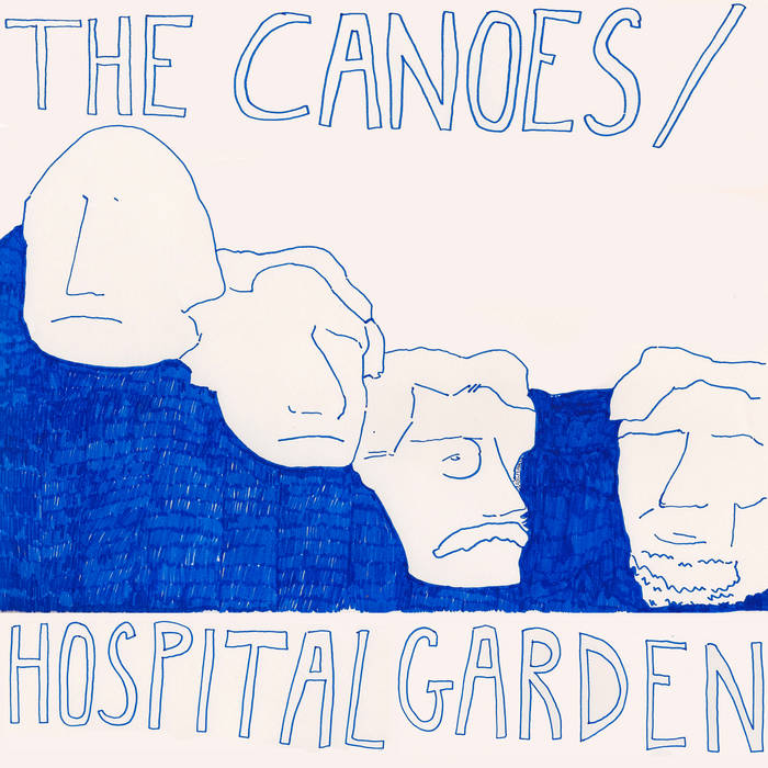 The Canoes/Hospital Garden Split cover art