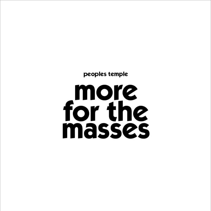 More For The Masses cover art