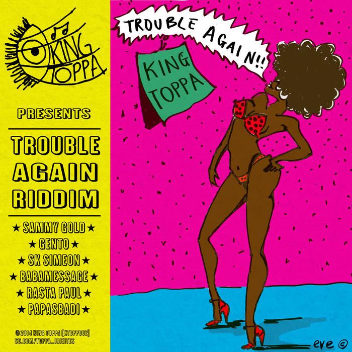 VA - Trouble Again Riddim (KT002) cover art