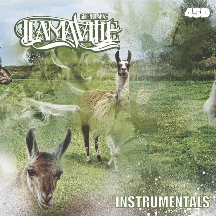 LLAMAVILLE [instrumentals] cover art