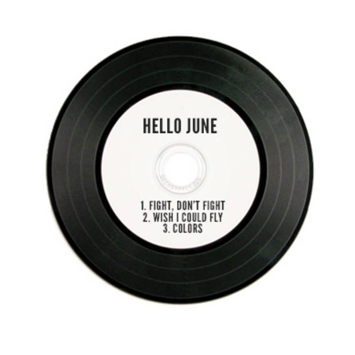 Hello June EP cover art