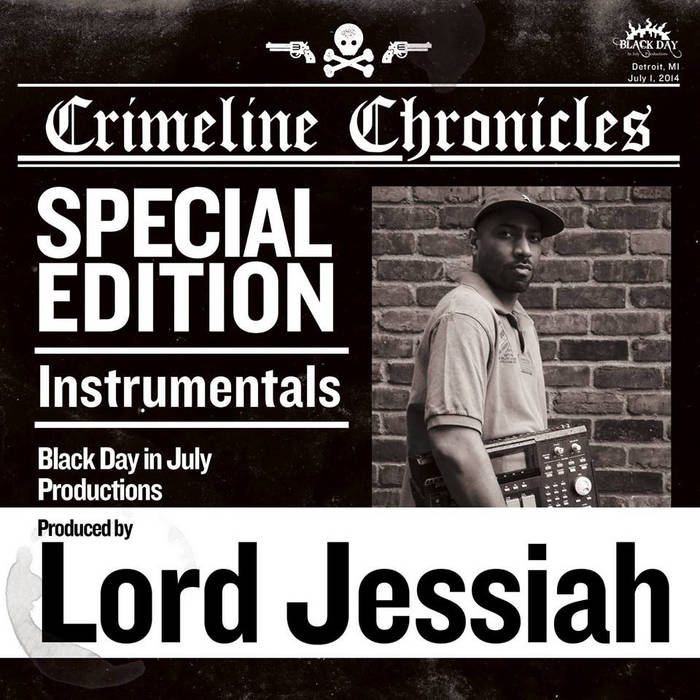 Crimeline Chronicles Instrumentals cover art