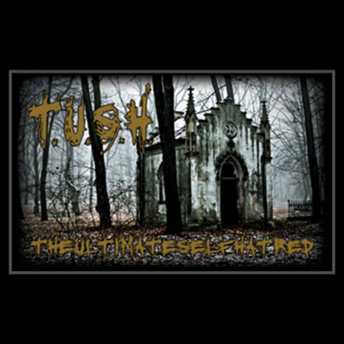 T.U.S.H. - The Ultimate Self Hatred - Cassette - 2012 cover art