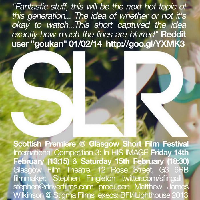 """""""SLR"""" original soundtrack cover art"""