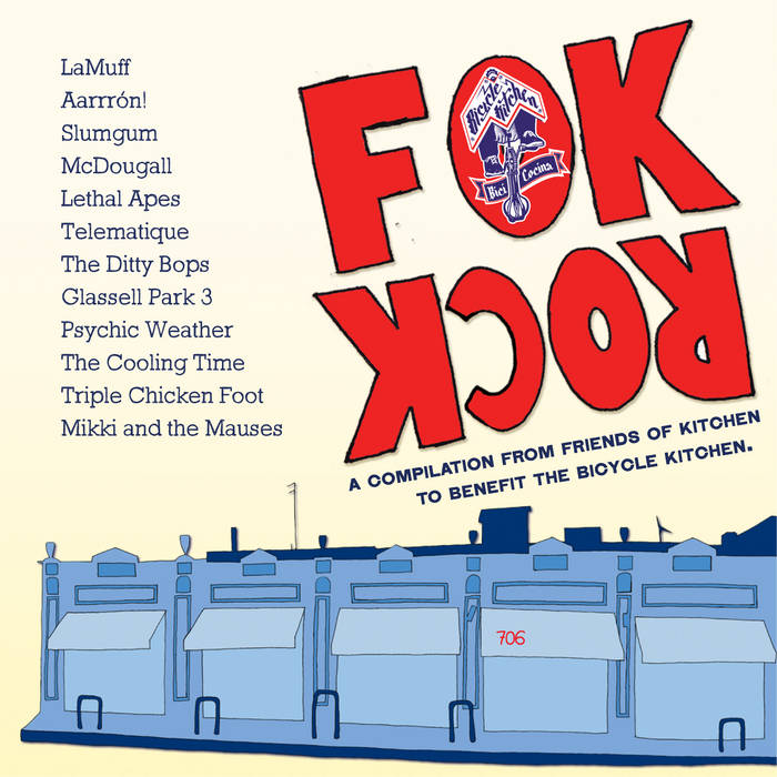 FOK Rock: A Compilation from Friends of Kitchen to Benefit the Bicycle Kitchen cover art