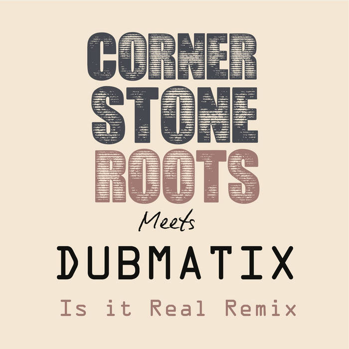 Is it Real Dubmatix RMX cover art