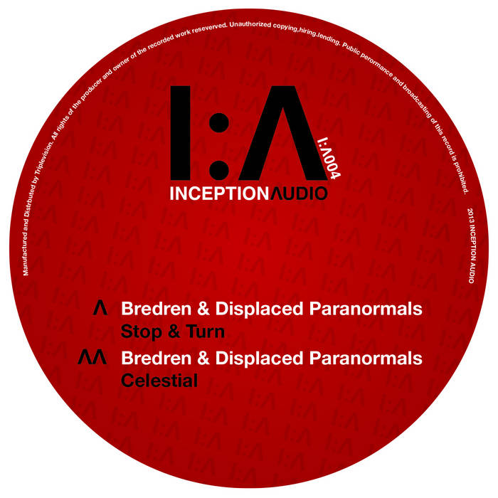 Inception Λudio - IA004 - Stop & Turn cover art