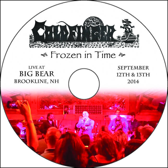 Frozen In Time - Live At Big Bear, 2014 cover art