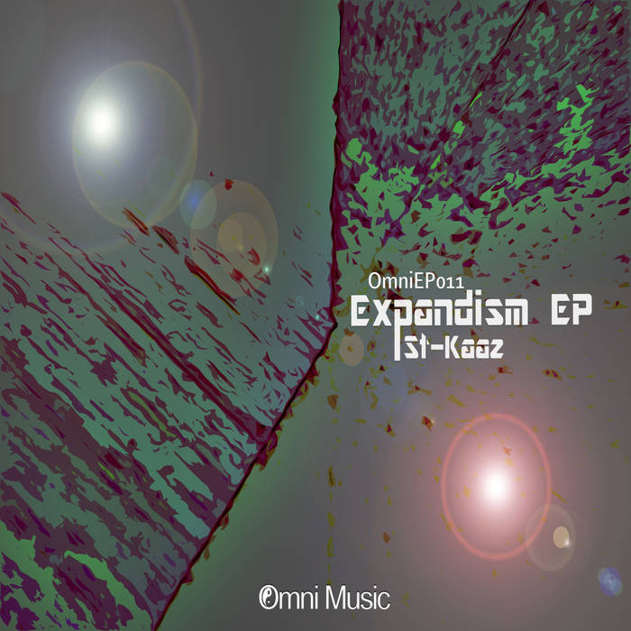 St Kaaz - Expandism EP cover art