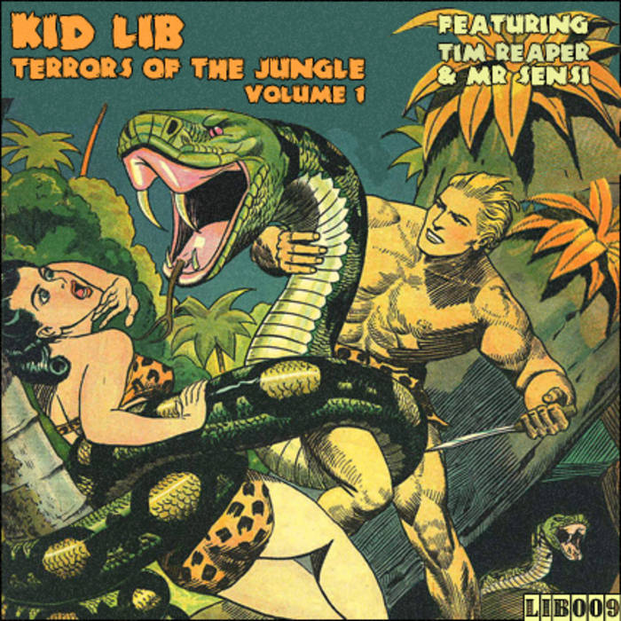 Kid Lib - Terrors Of The Jungle Vol.1 Ft. Tim Reaper & Mr Sensi cover art