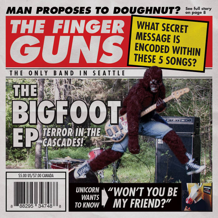 The Bigfoot EP cover art