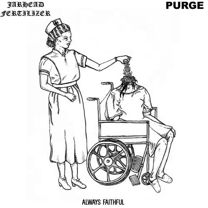 "JARHEAD FERTILIZER / PURGE split 7"" cover art"