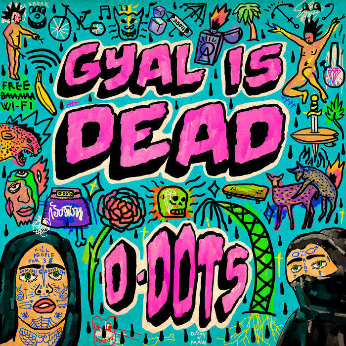 MOM023: D-DOTs - Gyal is Dead cover art